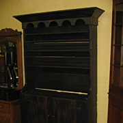 REDUCED Antique Pewter Cupboard