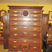 REDUCED American 18th Century Queen Anne Highboy