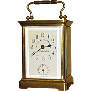 SOLD French Carriage Clock Bailey Banks & Biddle