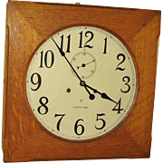 Ansonia 30 Day Wall Clock Fulton Model