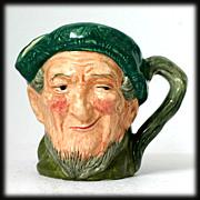 """Auld Mac Royal Doulton Toby Character Mug D5824 3"""" Figural Mug Vintage"""