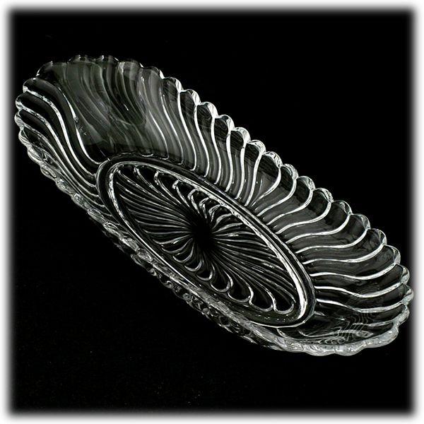 Fostoria Colony Oval Celery Dish Bowl Elegant Glass Vintage