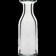 Baccarat French Crystal Vase Elegant Vintage Glass Signed