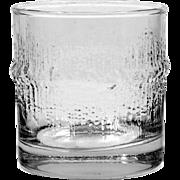 Iittala Niva Old Fashioned Tumbler Vintage Glass Finland Tapio Wirkkala