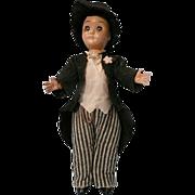 Vintage Plastic Groom Doll