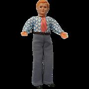 Vintage Male Dollhouse Doll