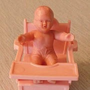 Plastic  Doll House Furniture---Potty Chair