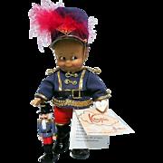 Unusual Effanbee Kewpie Doll Nutcracker Soldier