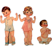 Our New Baby Paper Dolls