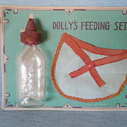 Toy Dolly's Feeding Set