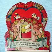Vintage Pull-Down Valentine