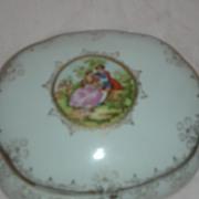 SALE Vintage Vanity Box or Trinket Jar