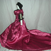 Countess Dagmar China Head Doll Beautiful Dress.
