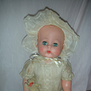 SALE Vintage Effanbee Baby Doll 1950s