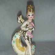 Vintage Josef Originals Fairy Secret Pal Pixie Sprite Figurine
