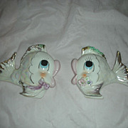 Vintage Mid Century Fish Wall Plaques