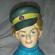 Rare Enesco Sailor Headvase Head Vase