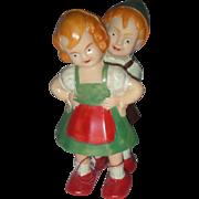 Vintage Celluloid Toy Double Ramp Walker Children