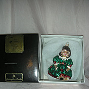 Christopher Radko Christmas Ornament Olive May Doll Marie Osmond