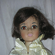 Vintage Madame Alexander Jackie Kennedy Portrait Doll 1961 Wearing Cape Coat #2210