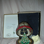 Vintage Mr Christmas Music Box Christmas Tree in Dome