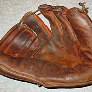 SOLD Sonnett Frank Thomas Baseball Glove Model G4F Leather Mitt Deep Cup Pocket