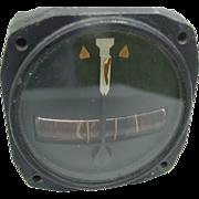 SOLD Military Kittyhawk Turn Indicator Bendix Aviation WWII P-40 Curtiss Warhawk Airplane