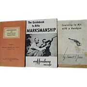 REDUCED Winchester Handbook on Shotgun Shooting 1952 Mossberg WWII 1944 Rifle Marksmanship
