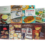 Recipes Cook Books Wise Potato Chips James Beard Mazola Worcestershire Red Star Yeast