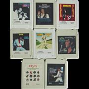 REDUCED Elvis Presley 8 Track Tapes Burning Love In Concert Separate Ways I got Lucky Blvd