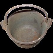 A.L. Swett Co Cast Iron Pot #5 Lead Melting Glue Cauldron Smelting