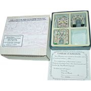 SOLD 3 Gates of Jerusalem Toby Maude Originals Miniatures Israel Box Set Historical Stone