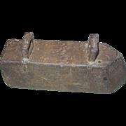 Sad Cast Iron Large Heavy 23 Pound Tailor Clothes Pressing No Handle Door Stop Anvil