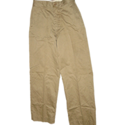 Military Vietnam War Era Trousers Men's Cotton Size 29X29 Uniform Pants