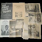 Wyalusing Pennsylvania Bi-Centennial 1953 The First 200 Years 1954 Book