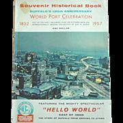 Souvenir Historical Book Buffalo N.Y. 125th Anniversary World Port Celebration 1832-1957