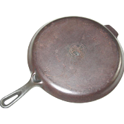 Griswold 109 Cast Iron Skillet Griddle 202 B Small Logo Frying Pan Cookware