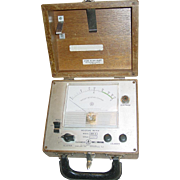 Irvington-Moore Moisture Meter Test Equipment MM-3 Kiln Dry Wood US Natural Resources