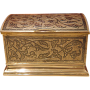 Antique silver and Niello cigarette box ,ca 1890