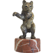 Vienna Bronze figure of a bear ,early 20th century