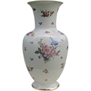 Bavarian Johann Seltmann manufactory vase, dated 1920