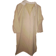 French Linen Smock or Shirt Hand Sewn