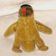 STEIFF 5 Inch Peggy Penguin Mohair No Tags