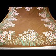 SOLD Vintage Signed Vera Neumann Narcissus Tablecloth