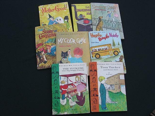 Whitman Big Tell-a-Tale Children Book Set