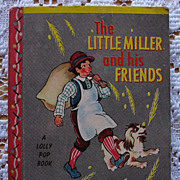 "SALE Miniature Lolly Pop Book ""The Little Miller and His Friends"""