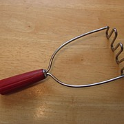 Androck Bullet Red Handled Catalin Masher