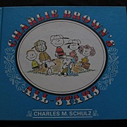 """SALE 1966 First Edition """"Charlie Brown's All-Stars"""""""