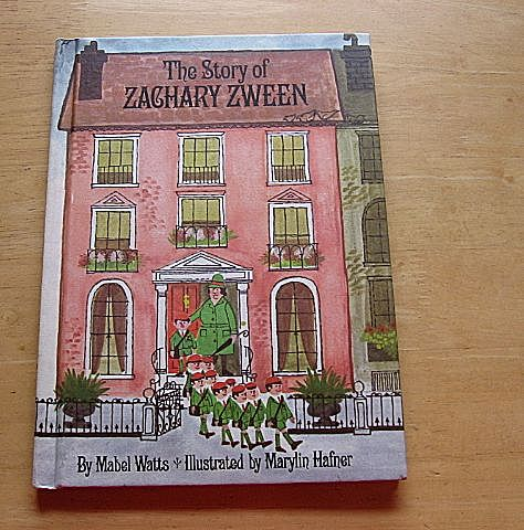 "1967 First Edition ""The Story Of Zachary Zween"" Mabel Watts Children Book"