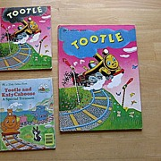 "Golden Book ""Tootle"" Children Book Set"